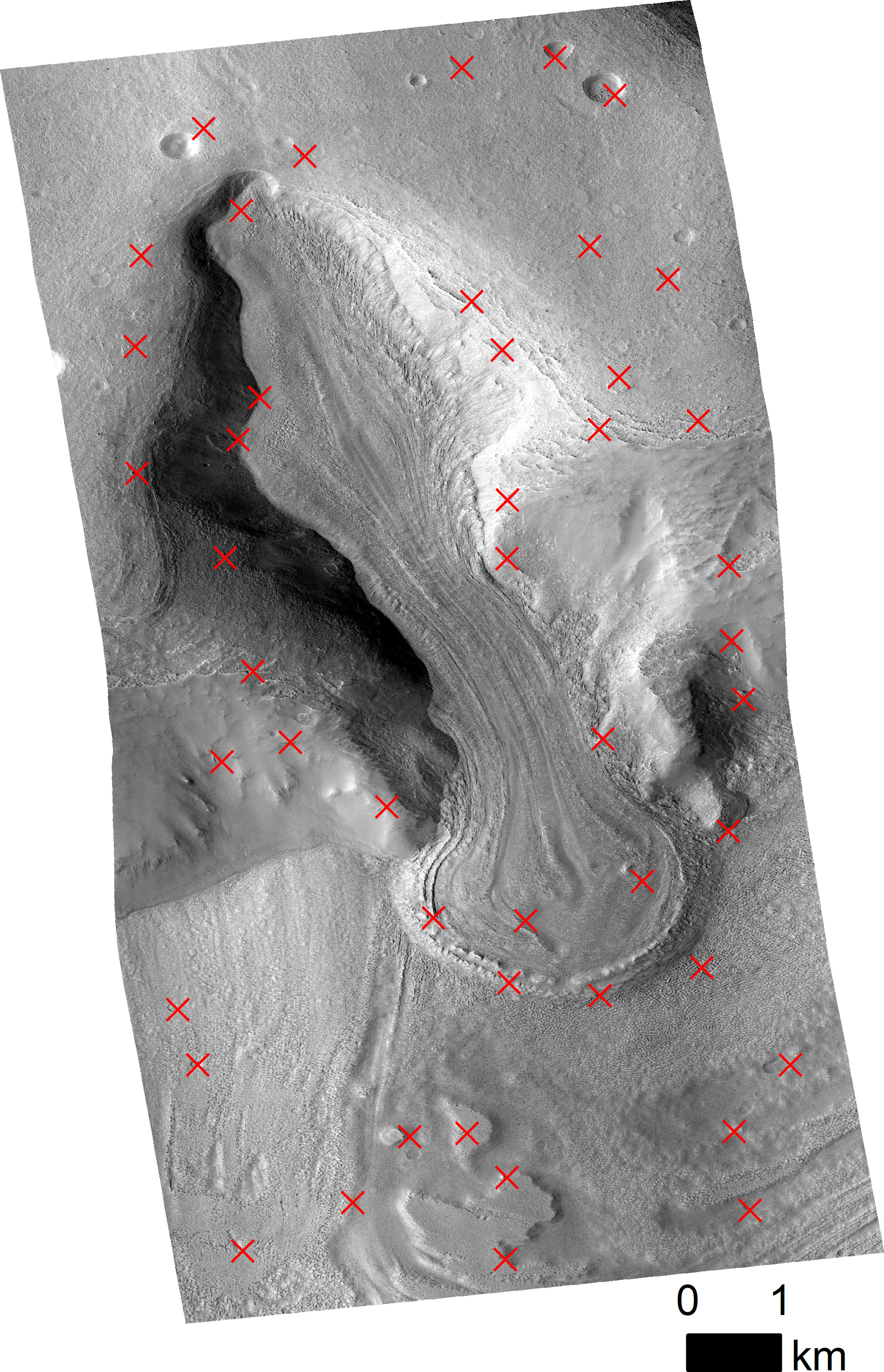 Gi Creating Hirise Digital Elevation Models For Mars Using The Open Source Ames Stereo Pipeline